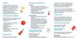 INFORMACIÓN PARA INSCRIPCIONES 2018-19