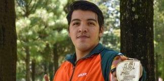 Misael López, primer medallista de los Juegos Panamericanos Universitarios