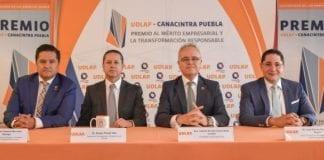 Presentan el premio UDLAP-CANACINTRA
