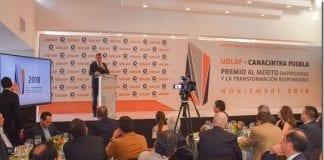 UDLAP-CANACINTRA entregan galardón a empresas con altos estándares de innovación, progreso continua y responsabilidad social