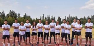 Medalla de oro para el atletismo Mexica en su primera competencia