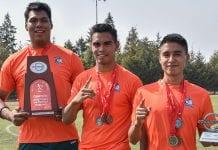 La Tribu Verde de atletismo regresó con 22 medallas y 3 trofeos