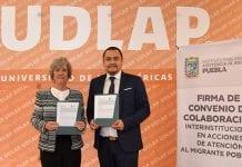La UDLAP y el IPAM se comprometen por el admisiblemente universitario y del migrante