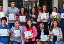 Estudiantes de preparatoria UDLAP-SEDIF representantes a nivel doméstico del Software Jóvenes en Hecho