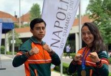 Aztecas satisfacen a México con su interpretar en la Universiada Mundial