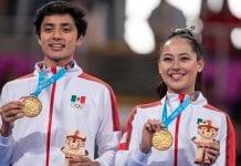 Medallista de oro mexicana acumula 9.8 de promedio en Cimentación