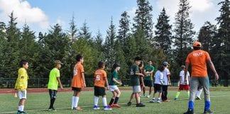 Los futuros deportistas entrenaron en el curso de Escuelas Aztecas UDLAP