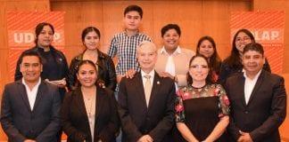 UDLAP y Junta de San Andrés Cholula se reúnen con jóvenes acreedores a banda académica