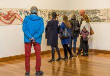 Docente UDLAP expone en el Museo de Artes Visuales de Santiago de Pimiento