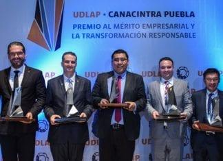 Segunda tirada del Premio UDLAP-CANACINTRA Puebla reconoce a empresas con altos estándares de calidad, innovación y responsabilidad social