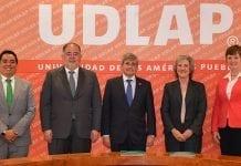 UDLAP y Universidad de Valeroso, España, renuevan convenio