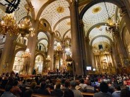 UDLAP presenta su tradicional concierto navideño en la Catedral Fortificación de Puebla