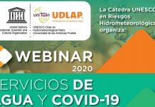 Catedráticos UDLAP y expertos discuten si los sistemas de agua son conductores del COVID-19