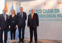La UDLAP renueva su Cátedra UNESCO de Riesgos Hidrometeorológicos