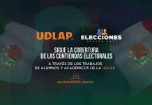 Rejón UDLAP software de cobertura a las elecciones 2021