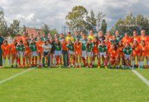 La Confederación MX femenil volvió a tener un rastra de verde y naranja