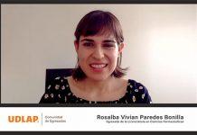 Egresada UDLAP, profesionista farmacéutica en México y Canadá