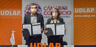 UDLAP y CANACO Puebla reafirman su compromiso de formar empresarios líderes